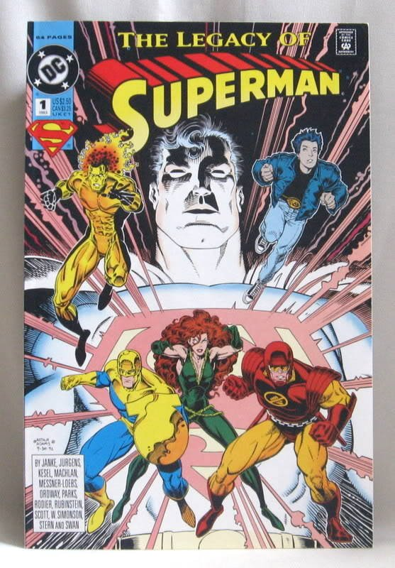 The Legacy Of Superman #1 Comic Book 1993
