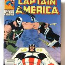 Captain America Streets Of Poison Vol. 1 #377 Sept. Comic Book 1990