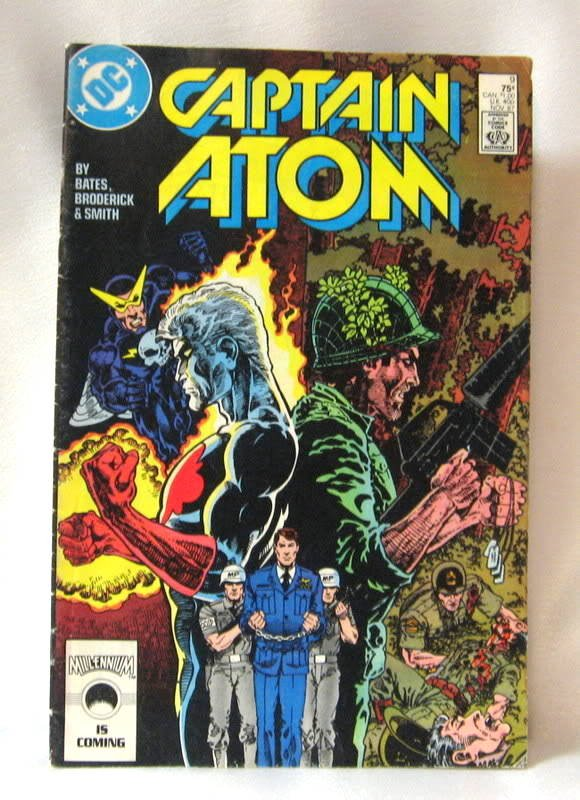 Captain Atom No. 9 Comic Book 1987