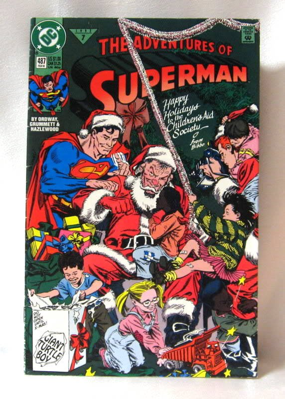 The Adventures Of Superman No. 487 Comic Book 1992 February