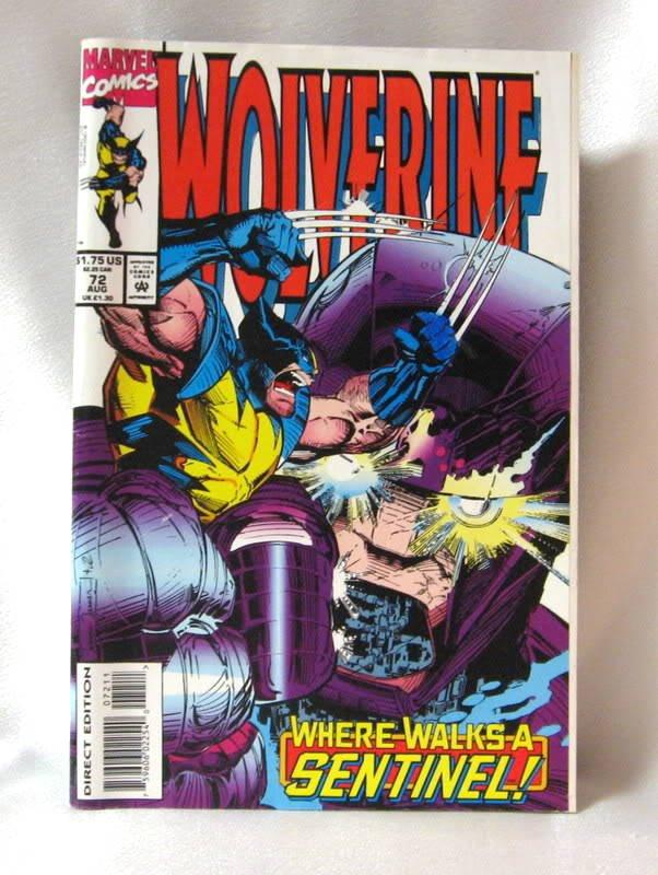 Wolverine August 1993 Comic Book #72 Marvel Comics