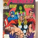 Avengers Comic Book Vol. 1 No. 308 October Marvel Comics 1989