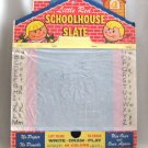 Vintage 1950's Toy Little Red Schoolhouse Slate