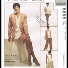 Misses Wardrobe McCall's Sewing Pattern No. 6895 Sizes 16 to 20 Jacket Vest Skirt Pants