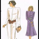 Misses Dress Very Easy Very Vogue Butterick Sewing Pattern #9642 Size 14 To 18 Vintage 1986