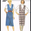 Misses Dress Jumper Vintage Butterick Sewing Pattern No. 6670 Sizes 14 To 18