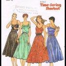 Juniors Miss Sleeveless Dress Butterick Pattern No. 6563 Sizes 11 to 15 Vintage