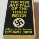 The Rise & Fall Of The Third Reich A History Of Nazi Germany William Shirer Large Book Vintage 1962