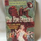 The Five Pennies Biography Of Jazz Great Red Nichols Softcover Book Vintage 1959