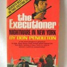 Don Pendleton The Executioner Nightmare In New York Softcover Book Vintage 1971