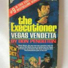Don Pendleton The Executioner Vegas Vendetta Softcover Book Vintage 1971