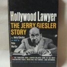 Hollywood Lawyer The Jerry Giesler Story As Told To Pete Martin Softcover Book Vintage 1962
