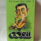 Cosell By Howard Cosell Vintage 1974 Softcover Book Biography