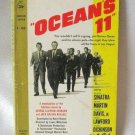 Ocean's 11 By George Clayton Johnson Jack Golden Russell Vintage Softcover Book 1960