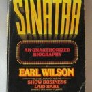 Sinatra An Unauthorized Biography By Earl Wilson Softcover Book Vintage 1977