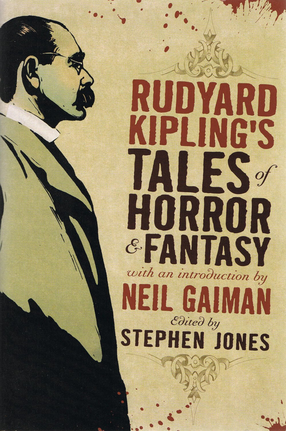 Rudyard Kipling's Tales Of Horror & Fantasy Large Softcover Book