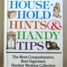 Household Hints & Handy Tips By Sally French Readers Digest Large Hardcover Book