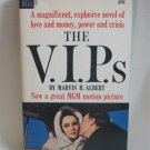 The V.I.P.s By Marvin H. Albert Softcover Book Vintage 1963 Liz Taylor Richard Burton Cover