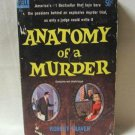 Anatomy Of A Murder By Author Robert Traver Softcover Book Vintage 1959