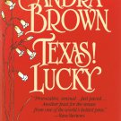 Texas Lucky By Sandra Brown Softcover Book