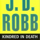 Kindred In Death J.D. Robb Nora Roberts Large Print Edition Hardcover Book