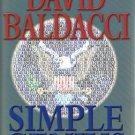 Simple Genius By David Baldacci Hardcover Book 2007