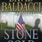 Stone Cold By David Baldacci Hardcover Book Large Print Edition