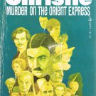 Murder On The Orient Express By Agatha Christie Softcover Book Vintage 1974