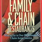 The Healthy Eater's Guide To Family & Chain Restaurants By Hope S. Warshaw Softcover Book