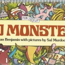 1000 Monsters Fun To Flip Book By Alan Benjamin Vintage 1979