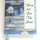 First Aid For The Soul Hardcover Book With Butterfly Charm Sonya Tinsley