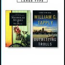 Safe Haven Nicholas Sparks Outwitting Trolls William G. Tapply Softcover Book Large Print