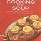 A Campbell Cookbook Cooking With Soup Hardcover Book Spiral Vintage 60's