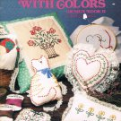 Candlewicking With Colors Design Book II By Kathleen Taylor