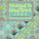 Holidays In Cross Stitch 1989 The Vanessa Ann Collection Hardcover Book