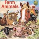 Farm Animals By Hans Helweg Softcover Book Vintage 1983 Children