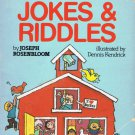 696 Silly School Jokes & Riddles By Joseph Rosenbloom Softcover Book Vintage