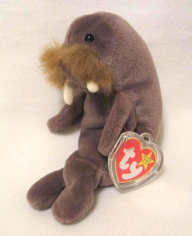 Jolly The Walrus Ty Beanie Baby Retired 1998