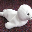 Seamore The White Seal Ty Beanie Baby Retired 1997