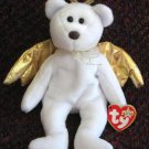 Halo II Guardian Angel Bear Ty Beanie Baby Retired 2001