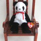 Fortune The Panda Bear Ty Beanie Baby Retired 1999