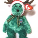 2002 Holiday Teddy Bear Ty Beanie Baby Retired