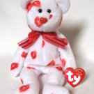 Smooch The Love Bear Ty Beanie Baby Retired 2001