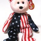Spangle Bear Ty Beanie Baby Pink Face USA Retired 1999