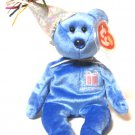 September The Birthday Bear Ty Beanie Baby Retired 2002