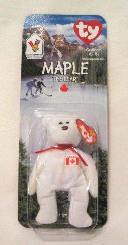 Maple The Canadian Bear Ty Teenie Beanie Baby In Package 1999 Retired de4417e6426