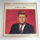 John Fitzgerald Kennedy JFK A Memorial Album Vinyl LP Record Vintage 1963