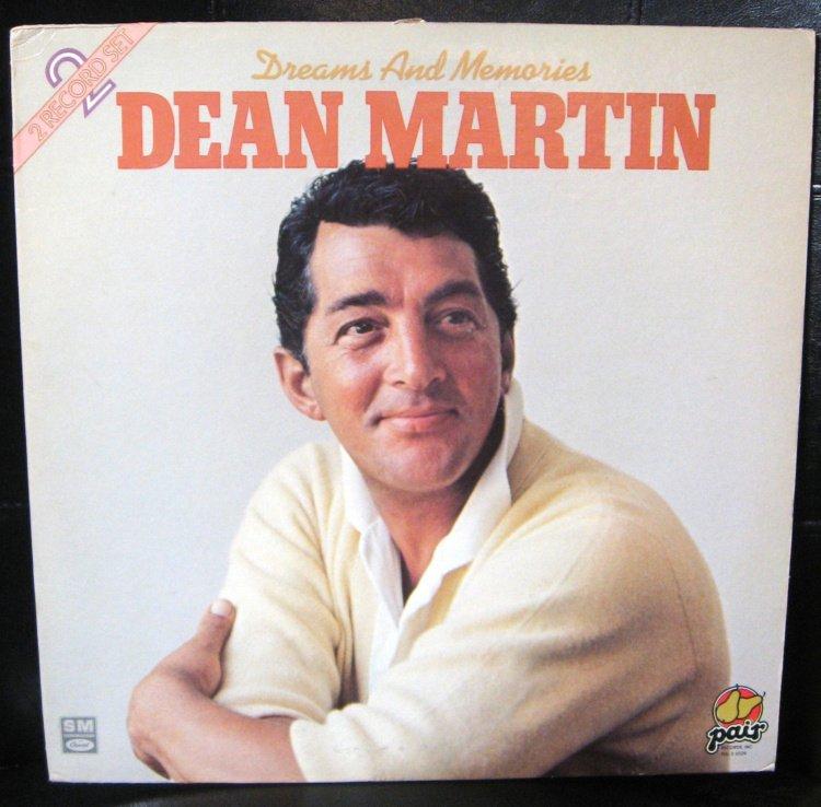 Dreams And Memories Dean Martin 2 Record Lp Album Set 16
