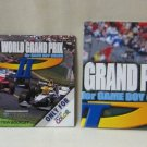 Game Boy Color F1 World Grand Prix Racing Game Instruction Booklet & Small Poster Nintendo