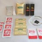 Las Vegas Memorabilia  Sewing Kits Shower Caps Spade Glass Coaster Ashtray Vintage